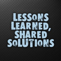 Lessons Learned Shared Solutions